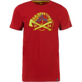 La Sportiva Hipster Koszulka Mężczyźni, chili